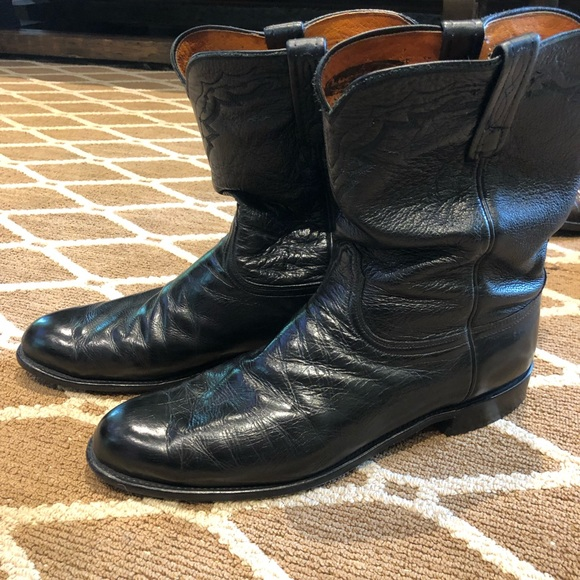 Authentic Mens Lucchese Boots